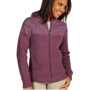Icelandic Purple Better Sweater Jacket w/ Hood
